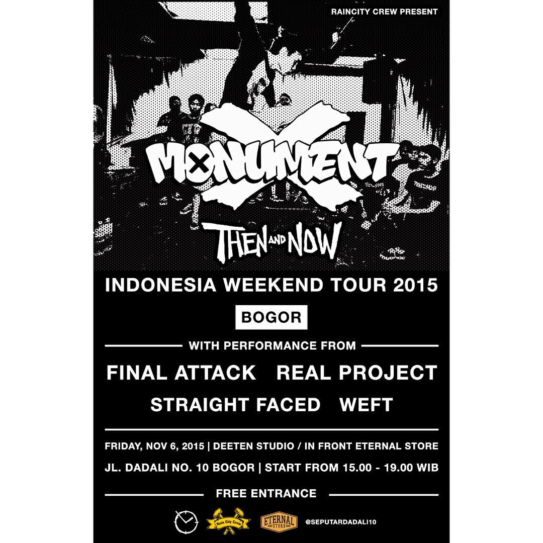 MONUMENT X & THEN AND NOW (THAILAND) INDONESIA WEEKEND TOUR 2015