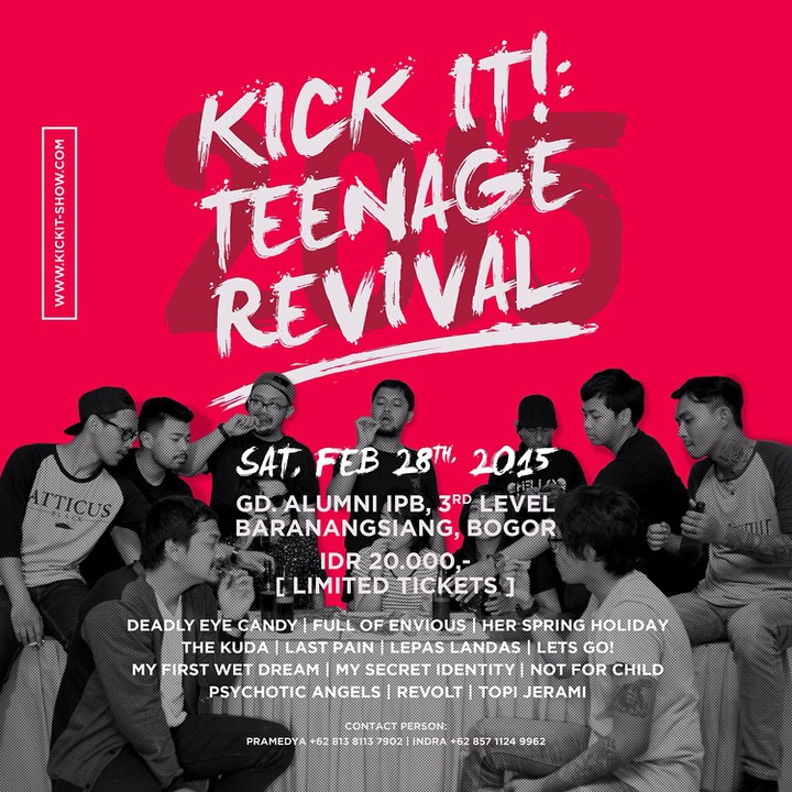Kick It : Teenage Revival